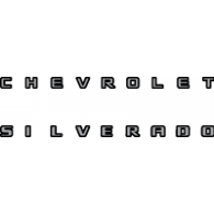 Chevrolet Silverado logo vector logo