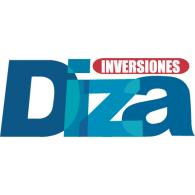 Diza logo vector logo