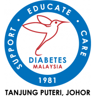 Malaysia Diabetes Society (Tanjung Puteri Johor) logo vector logo
