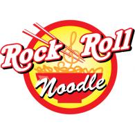 Rock & Roll Noodle logo vector logo
