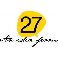 27 agency logo vector logo