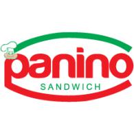 Panino Sandwich logo vector logo