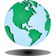 Global logo vector logo