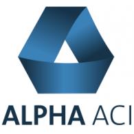 Alpha ACI logo vector logo