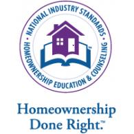 Homeownership Done Right logo vector logo