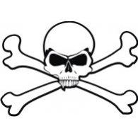 Skull'n'bones logo vector logo