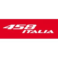 458 Italia logo vector logo