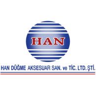 Han Düğme logo vector logo