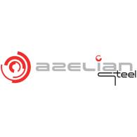 Azelian Steel logo vector logo