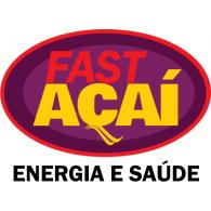 Fast Açaí logo vector logo