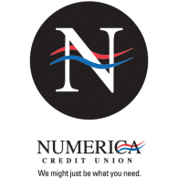Numerica Credit Union logo vector logo