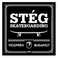 STÉG SKATEBOARDING logo vector logo