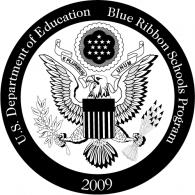 Blue Ribbon Schools Program logo vector logo