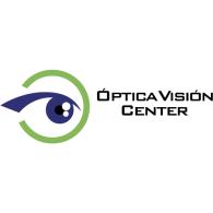 Optica Vision Center logo vector logo
