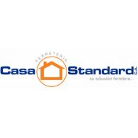 Casa Standard logo vector logo