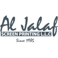 Al Jalaf Screen Printing logo vector logo