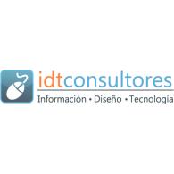 idtconsultores logo vector logo