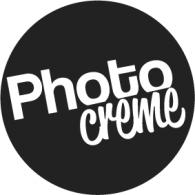 Photocreme logo vector logo