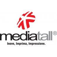 Mediatall logo vector logo