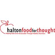 Halton Food for Thought logo vector logo