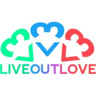 LiveOutLove logo vector logo