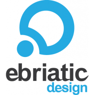 Ebriatic Design logo vector logo
