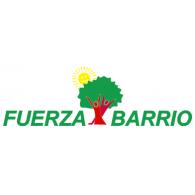 Fuerza Barrio logo vector logo