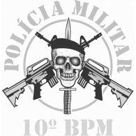 Policia Militar 10 logo vector logo