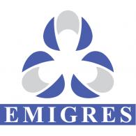 emigres logo vector logo