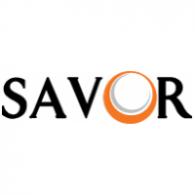 Savor logo vector logo
