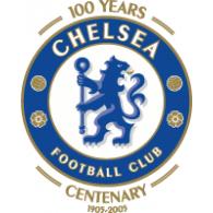 Chelsea FC 100th Anniversary logo vector logo