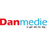 Danmedie logo vector logo