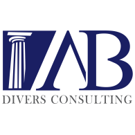 AB Divers Consulting logo vector logo