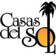 Casas del Sol logo vector logo