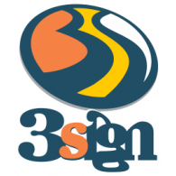 3sign logo vector logo
