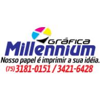 Gráfica Millennium logo vector logo