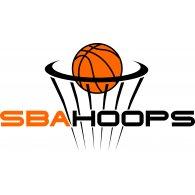 SBA Hoops logo vector logo