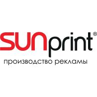 Sunprint logo vector logo