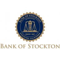 Bank of Stockton logo vector logo