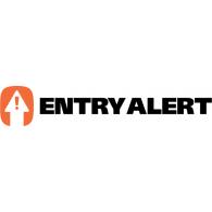 Entry Alert logo vector logo