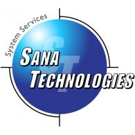 Sana Technologies logo vector logo