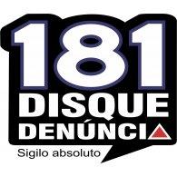 181 Disque Denúncia logo vector logo