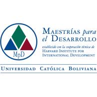 Maestrias Para el Desarrollo logo vector logo