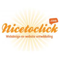 Nicetoclick.com logo vector logo