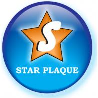 Star Plaque logo vector logo