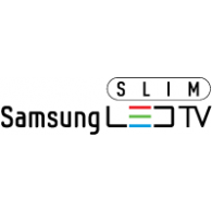 Samsung Slim LED TV logo vector logo