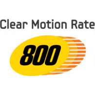 Clear Motion Rate 800 logo vector logo