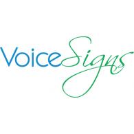 VoiceSigns logo vector logo