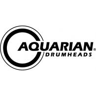 Aquarian Drumheads logo vector logo