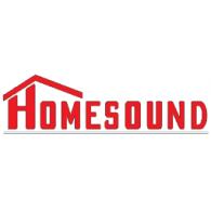 Homesound logo vector logo